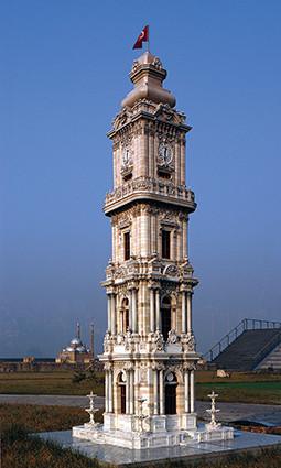 The Dolmabahce Clock Tower