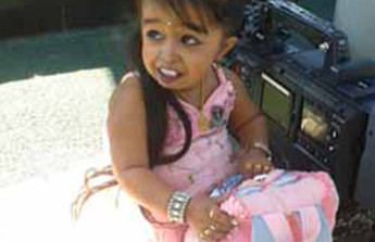 The Miniature Girl Jyoti Amge at the Miniatürk