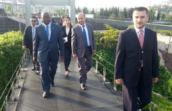 Ngafuan, the Minister of Foreign Affairs of Liberia visits the Miniatürk