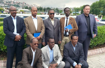 Mungab, the Mayor of Somalia Mogadishu is at the Miniatürk