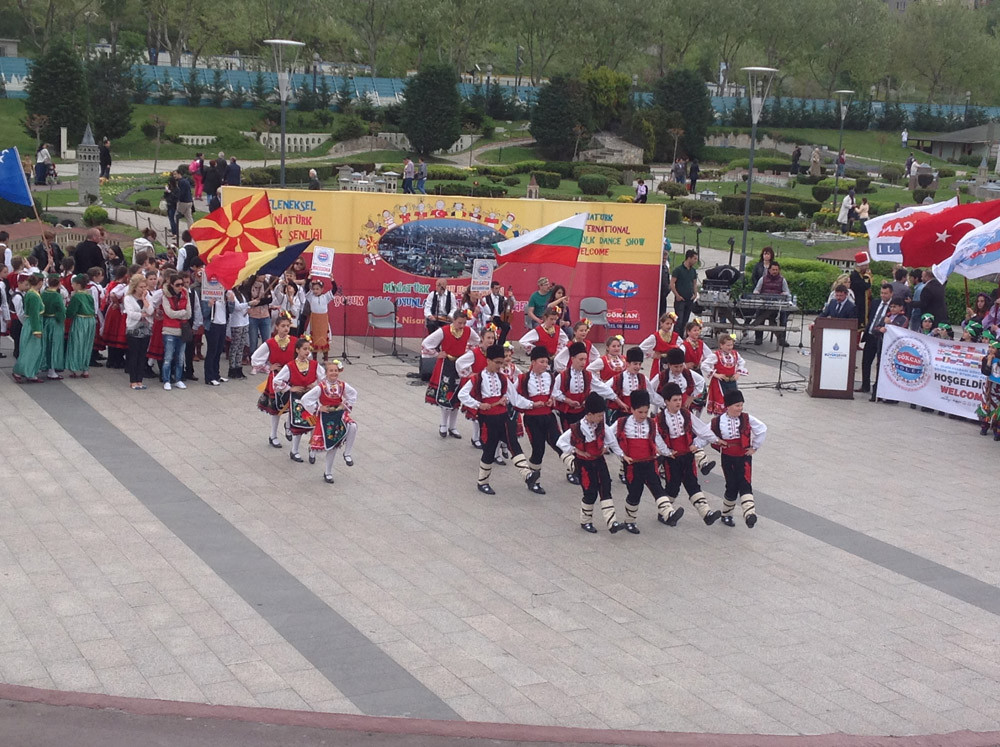 A Magnificent Show Performed by Folkloric Dance Teams of Children from 10 Countries at the Miniatürk Galeri - 24. Resim